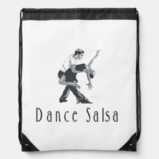 TOP Dance Salsa Drawstring Backpack
