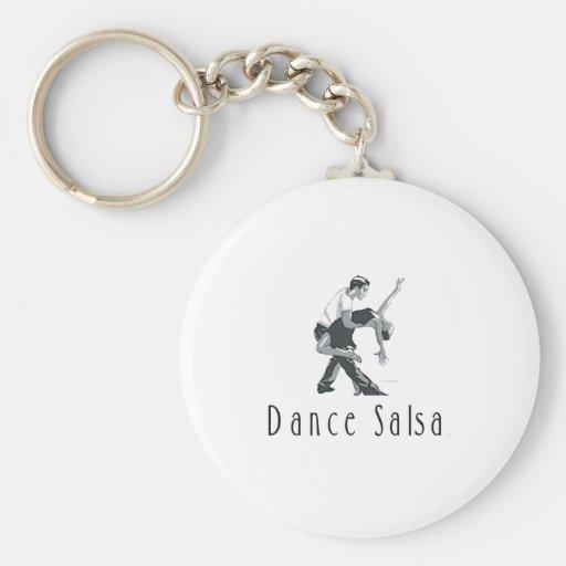 TOP Dance Salsa Key Chain