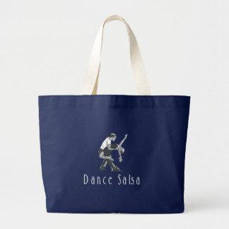 TOP Dance Salsa Large Tote Bag