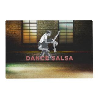 TOP Dance Salsa Laminated Placemat