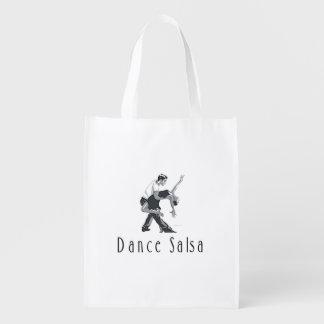 TOP Dance Salsa Reusable Grocery Bag