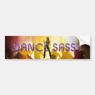 TOP Dance Sassy Bumper Sticker