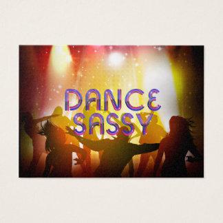 TOP Dance Sassy Business Card