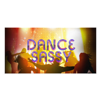 TOP Dance Sassy Card