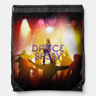 TOP Dance Sassy Drawstring Backpack