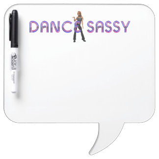 TOP Dance Sassy Dry Erase Board