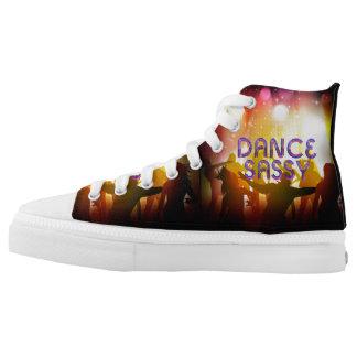 TOP Dance Sassy High-Top Sneakers