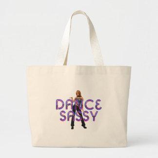 TOP Dance Sassy Large Tote Bag