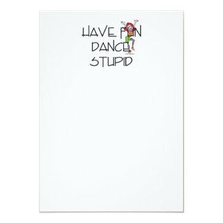 TOP Dance Stupid Card