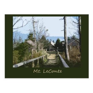 Top de arte de la foto del Mt LeConte Postal