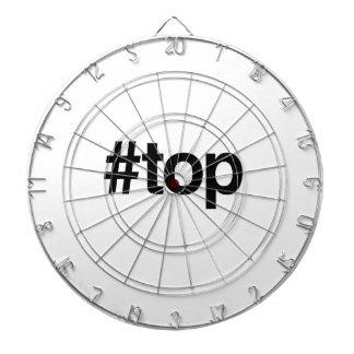 TOP DE HASHTAG - .PNG TABLERO DE DARDOS