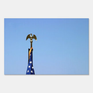 Top de la bandera de los E.E.U.U. Señal