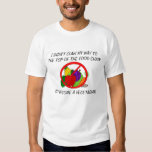 Top de la camiseta Anti del vegetarianismo de la