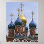 Top de la iglesia ortodoxa rusa en Rusia Impresiones