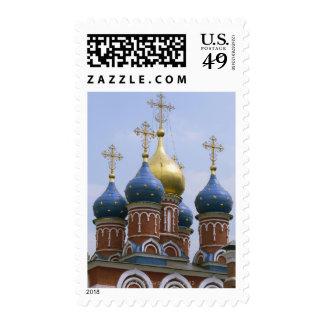 Top de la iglesia ortodoxa rusa en Rusia Sello
