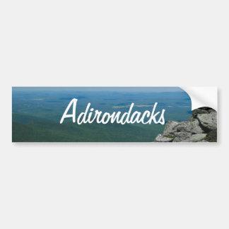 Top de la montaña de Whiteface, Adirondacks, NY Pegatina Para Auto