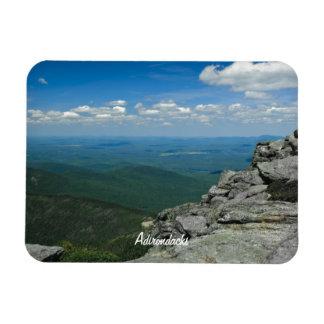 Top de la montaña de Whiteface, Adirondacks, NY Imanes De Vinilo