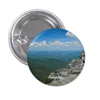 Top de la montaña de Whiteface, Adirondacks, NY Pin Redondo 2,5 Cm