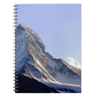 Top de la montaña - serie de la madre naturaleza cuadernos