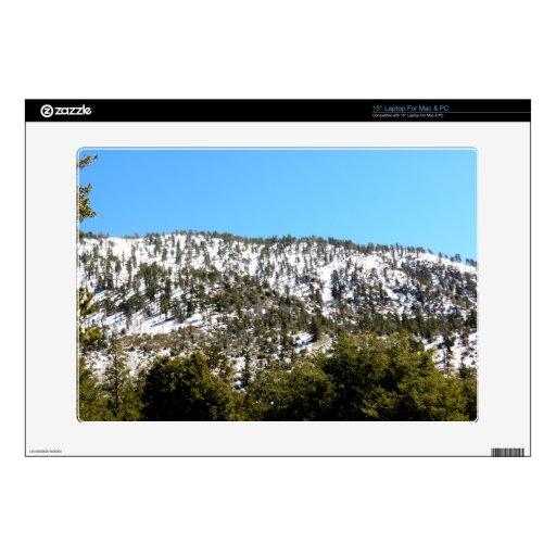 Top de la montaña skins para 38,1cm portátil