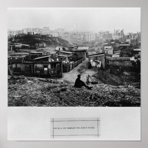 Top de la ruda Champlain París, 1858-78 Póster