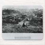 Top de la ruda Champlain París, 1858-78 Tapete De Ratones