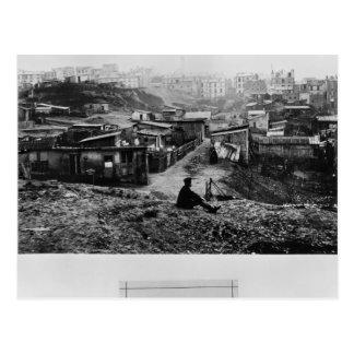 Top de la ruda Champlain París, 1858-78 Postal