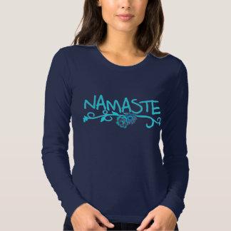 Top de la yoga de Namaste - manga larga