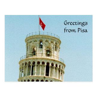 top de Pisa Postales
