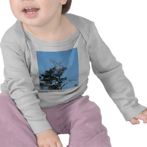 Top del árbol de muerte camiseta