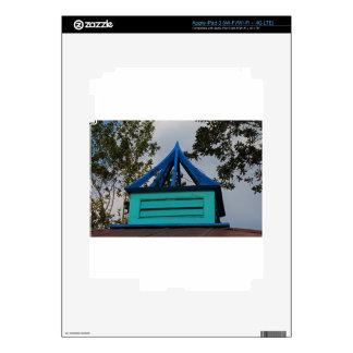 Top del azul pegatina skin para iPad 3