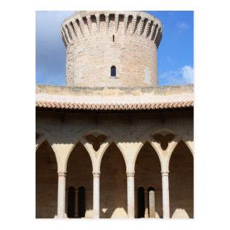 Top del castillo de Bellver Postal