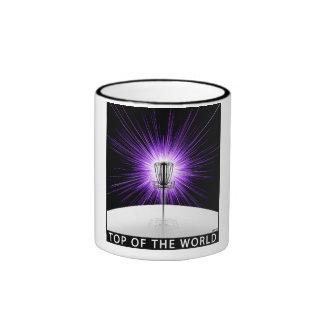Top del mundo taza de dos colores
