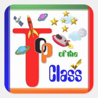 Top del pegatina del premio del ~ de la clase # 5