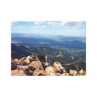 Top del pico de los lucios, Colorado Impresiones En Lona