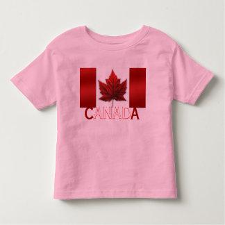 Top del recuerdo del bebé de Canadá de la camisa
