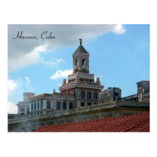 top del tejado de La Habana Tarjeta Postal