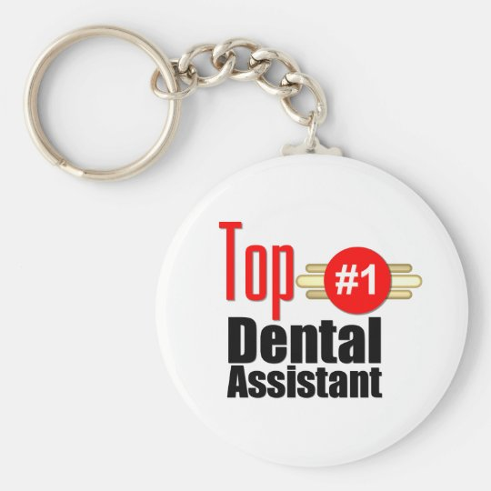 Top Dental Assistant Keychain