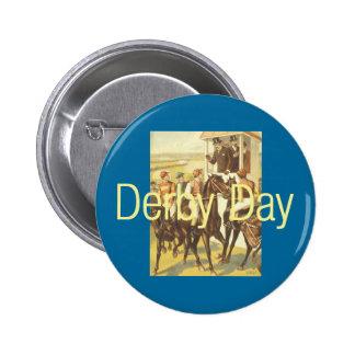 TOP Derby Day Pinback Button