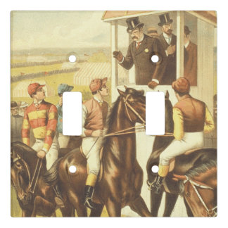TOP Derby Day Light Switch Cover