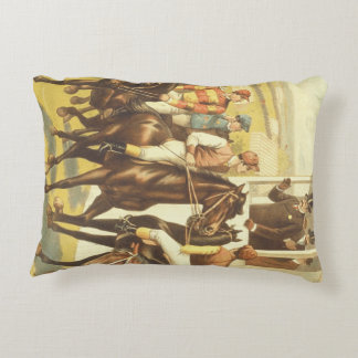 TOP Derby Day Accent Pillow