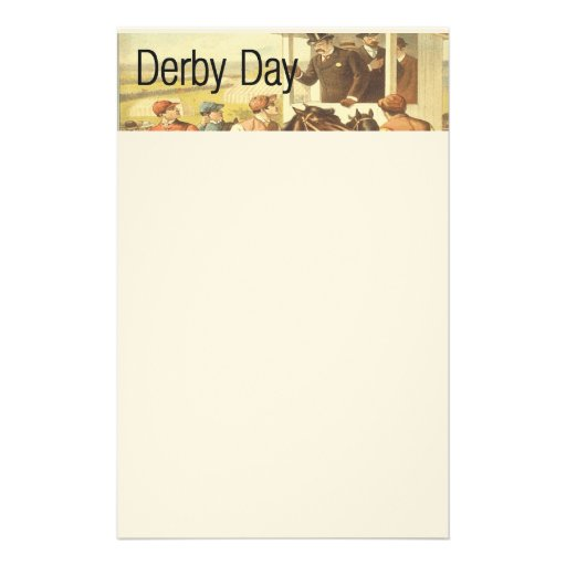TOP Derby Day Stationery