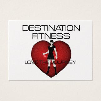 TOP Destination Fitness Business Card