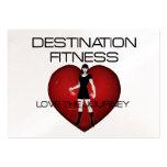 TOP Destination Fitness Business Cards