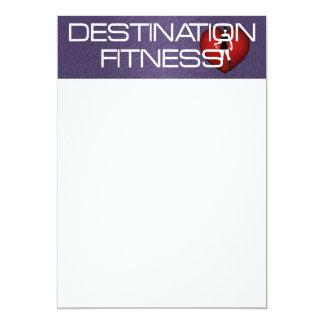 TOP Destination Fitness Card