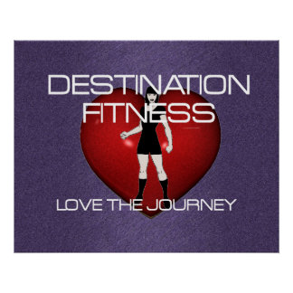 TOP Destination Fitness Poster