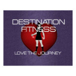 TOP Destination Fitness Print