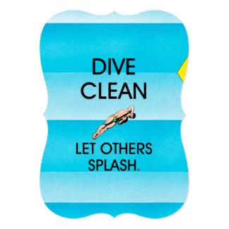 TOP Dive Clean Card