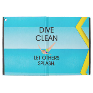 "TOP Dive Clean iPad Pro 12.9"" Case"
