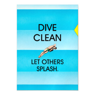 TOP Dive Clean Magnetic Card